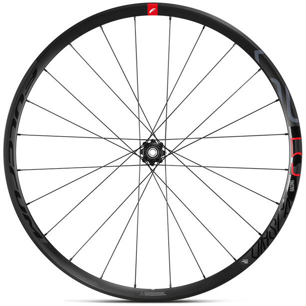 "Fulcrum Racing 5 DB Laufradsatz Road 28"" CA 9-12-fach Disc CL Drahtreifen TLR black"