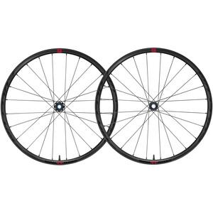 """Fulcrum Rapid Red 5 DB Wheelset Gravel 29"""" XDR 11/12-speed Disc CL Clincher TLR svart svart"""