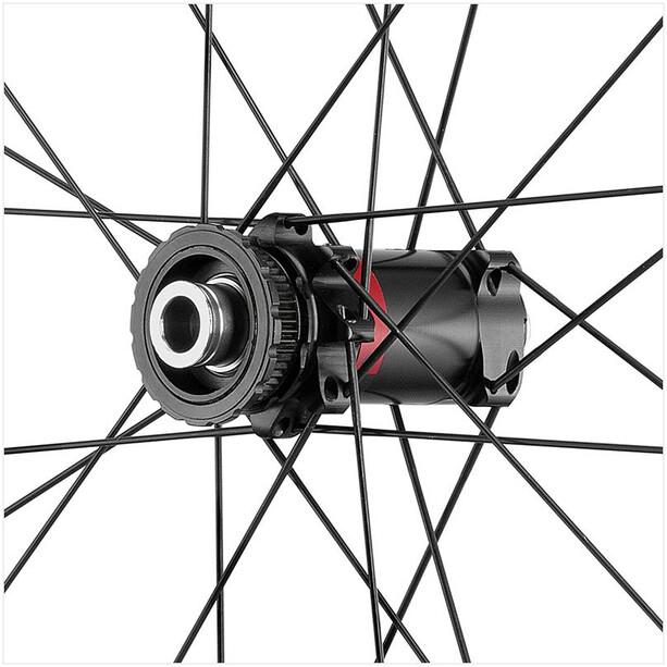 """Fulcrum Rapid Red 5 DB Laufradsatz Gravel 27.5"""" HG 8-11-fach Disc CL Drahtreifen TLR black"""