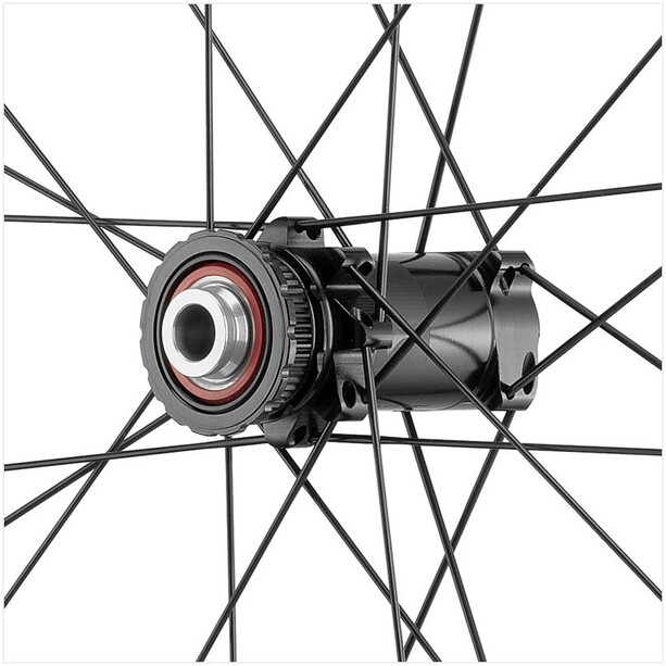 "Fulcrum Wind 40 DB Wheelset Road 28"" HG 8-11-speed Clincher TL black"