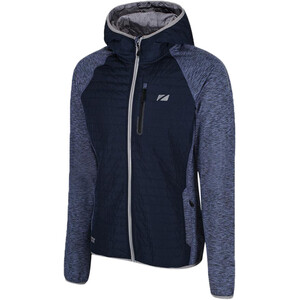 Zone3 Hybrid Puffa Steppjacke Herren petrol blue/grey petrol blue/grey