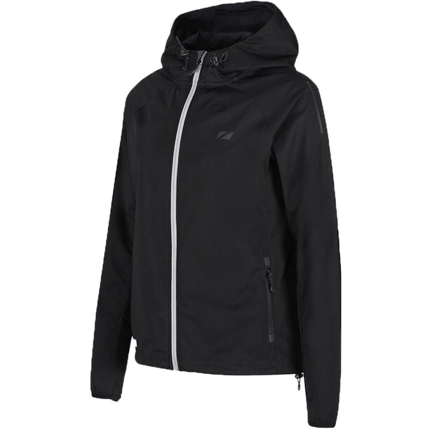 Zone3 Softshell Jacke Damen stealth black