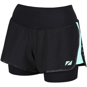 Zone3 Rx3 Compression 2-in-1 Shorts Damen black/mint black/mint