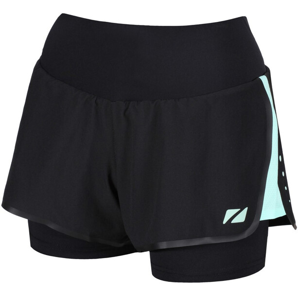 Zone3 Rx3 Compression 2-in-1 Shorts Damen black/mint