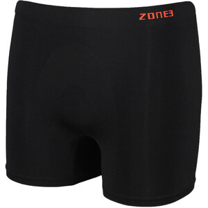 Zone3 Seamless Support Boxershorts Herren black/orange black/orange