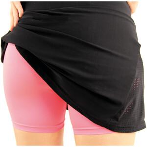 Karpos Lavaredo Run Skirt Women black/pink fluo black/pink fluo