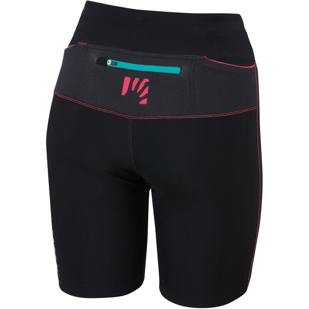 Karpos Quick Evo Shorts Women, black/paradise pink