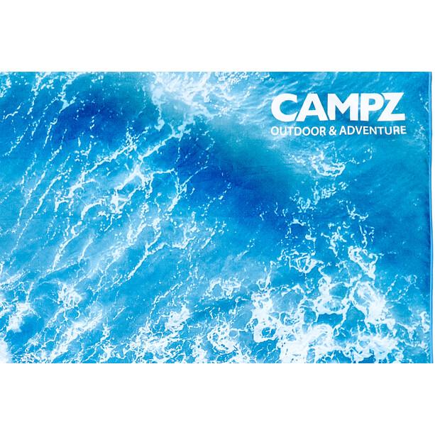CAMPZ Mikrofaser Strandtuch 90x200cm beach