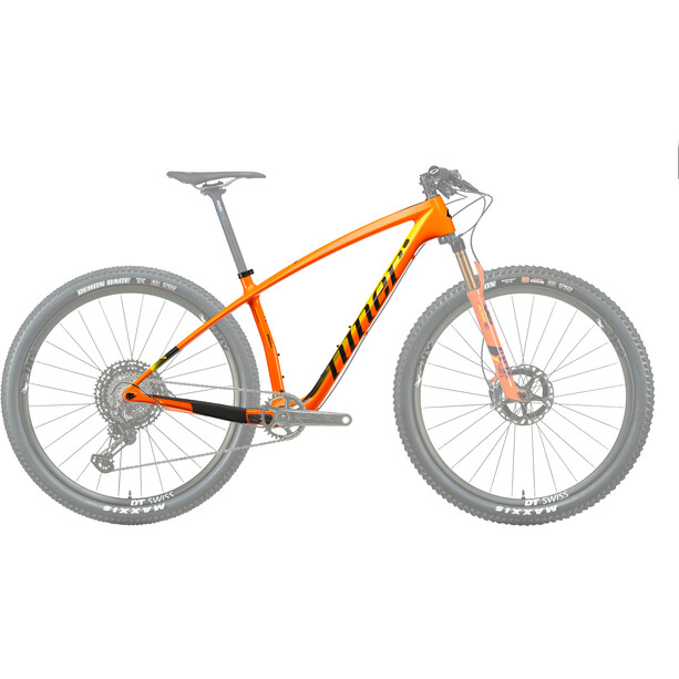 Niner AIR 9 RDO Rahmenset orange/yellow