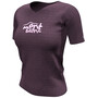 Compressport Training Kurzarm T-Shirt Mont Blanc 2020 Damen prune
