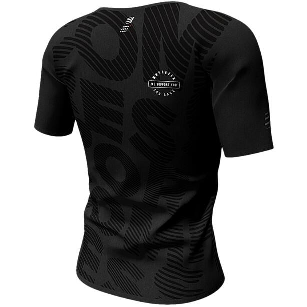 Compressport Training Kurzarm T-Shirt Black Edition 2020 Damen black