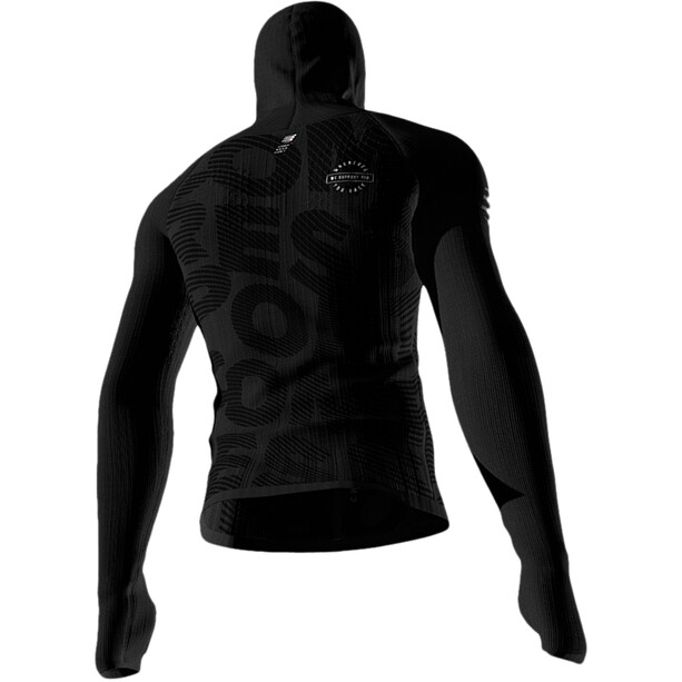 Compressport 3D Thermo Seamless Zip Hoodie Black Edition 2020 Herren black