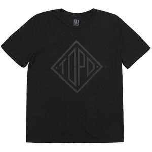 Topo Designs Diamond T-Shirt Herren schwarz schwarz