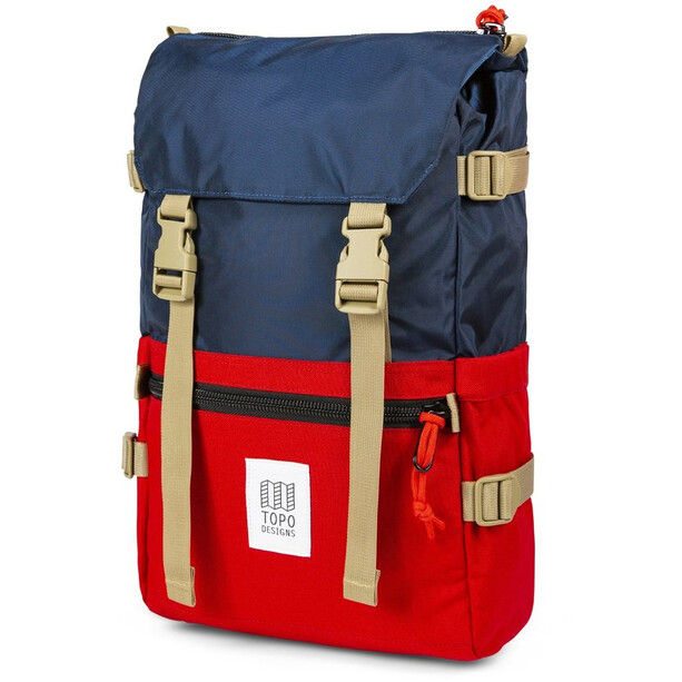 Topo Designs Rover Sac, navy/red