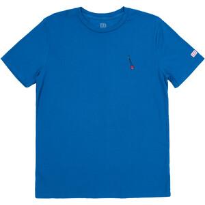 Topo Designs Trad Kurzarm T-Shirt Herren blau blau