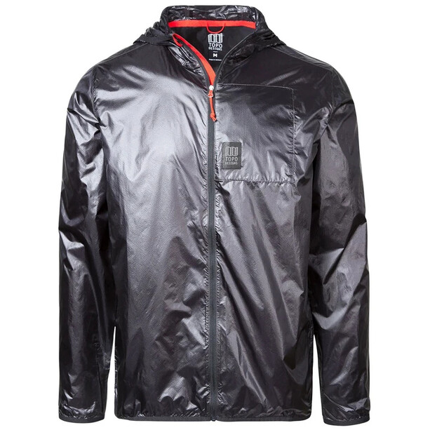Topo Designs Ultralight Jacke Herren black