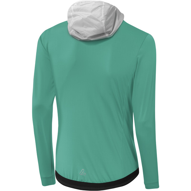 Löffler Light Kapuzen-Hybridjacke Damen mint