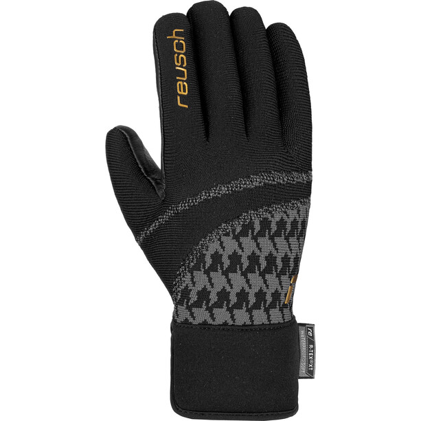 Reusch Re:Knit Victoria R-TEX XT Handschuhe Damen black/gold