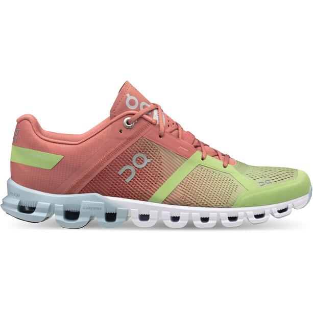 On Cloudflow Shoes Women guava/dustrose
