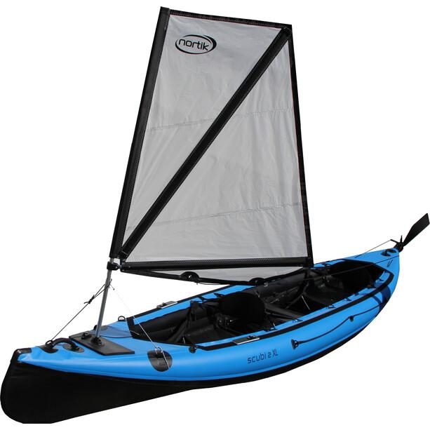 nortik Sail 0.8 Kajak Segelsystem für scubi 2 XL