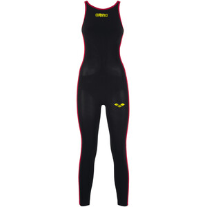arena Powerskin R-Evo+ OW Badeanzug Damen black/fluo yellow black/fluo yellow