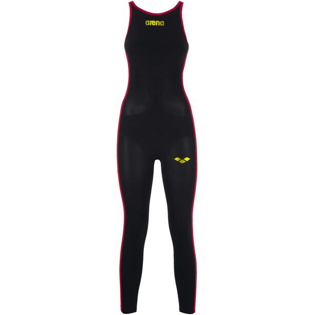 arena Powerskin R-Evo+ OW Badeanzug Damen black/fluo yellow