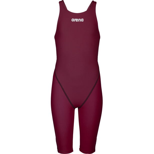 arena Powerskin St 2.0 Short Leg Open Einteiler Damen deep red
