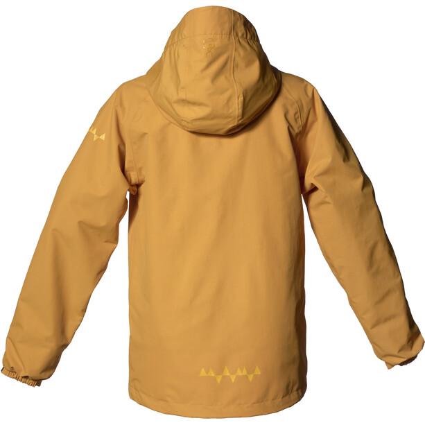 Isbjörn Monsune Hard Shell Jacke Jugend gelb