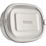 CAMPZ Stainless Steel Lunch Box M 850ml silver