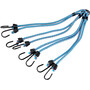 CAMPZ Eight-Hook Luggage Strap blue