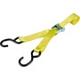 CAMPZ Lashing Belt with Double S-Hook 3,5cm x 2m yellow