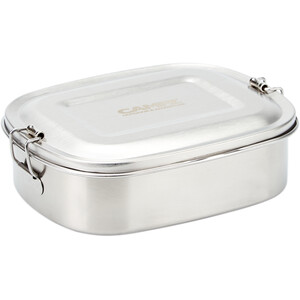 CAMPZ Edelstahl Lunch Box S 700ml silver silver