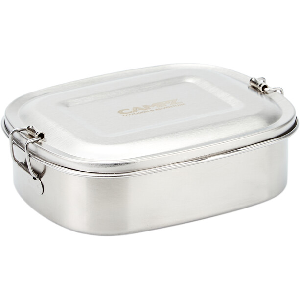 CAMPZ Edelstahl Lunch Box S 700ml silver