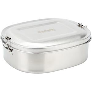 CAMPZ Pudełko śniadaniowe ze stali nierdzewnej M 850ml, srebrny srebrny
