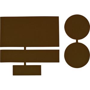 CAMPZ Nylon Reparatie Patches 5 stuks, bruin bruin