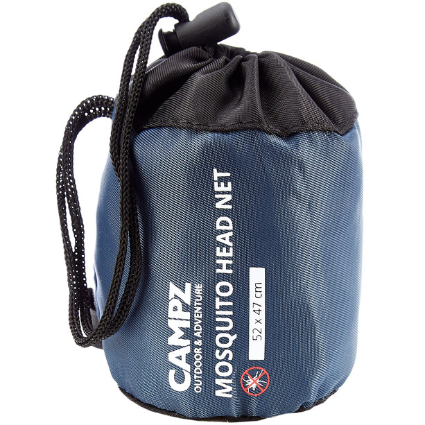 CAMPZ Moskito-Kopfnetz 600 MESH black