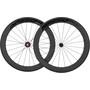 Veltec Speed 6.0 Ensemble de roues pour la route 63mm Frein sur jante QR Shimano, noir