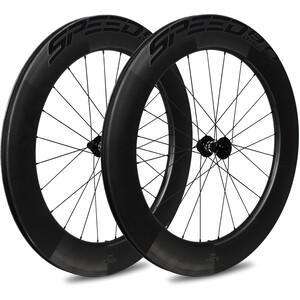 Veltec Speed 8.0 Set Ruedas Carretera 83mm Freno de Disco QR XDR, negro negro