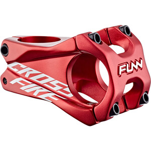 FUNN Crossfire Potence Ø31,8mm, rouge rouge