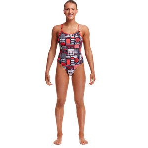 Funkita Diamond Back One Piece Swimsuit Women bento box bento box
