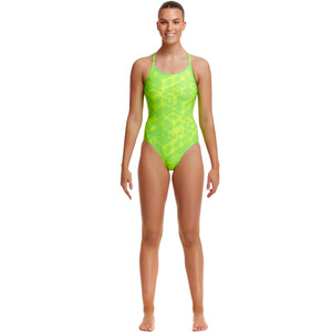 Funkita Diamond Back One Piece Swimsuit Women neon orbiter neon orbiter