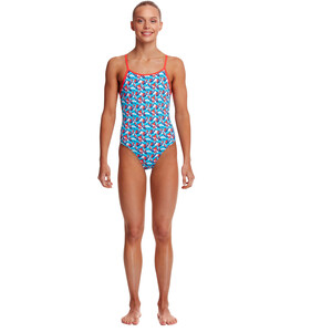 Funkita Diamond Back One Piece Badeanzug Mädchen swallowed up swallowed up