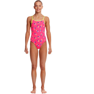 Funkita Diamond Back One Piece Badeanzug Mädchen fly dragon fly dragon