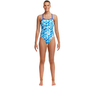 Funkita Single Strap One Piece Swimsuit Women galactica galactica