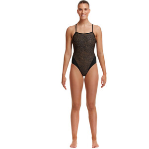 Funkita Single Strap One Piece Badeanzug Damen leather skin leather skin