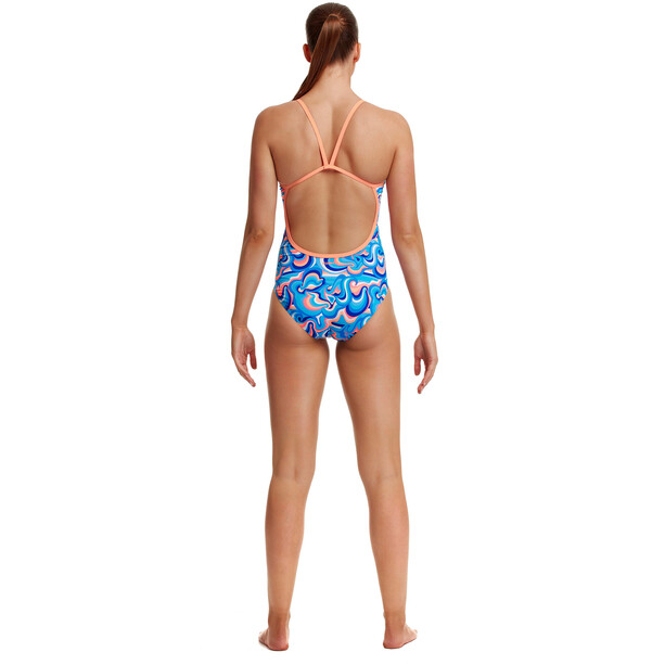 Funkita Eco Single Strap One Piece Badeanzug Damen double scoop