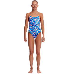 Funkita Eco Single Strap One Piece Swimsuit Girls double scoop double scoop