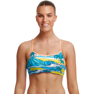Funkita Eco Bikini Crop Top Damen summer bay summer bay