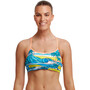 Funkita Eco Bikini Crop Top Damen summer bay