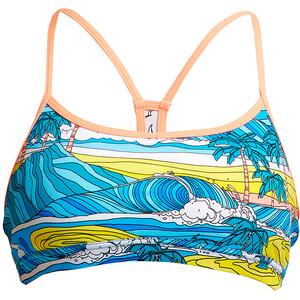 Funkita Eco Schwimm Crop Top Damen summer bay summer bay
